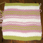 Myrtle Beach Washcloth - not quite finished