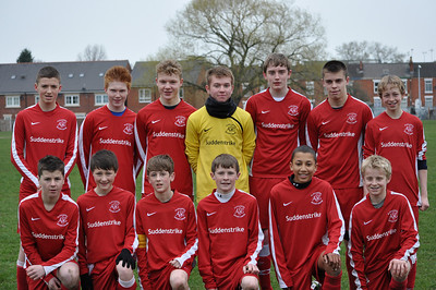 South Cheshire Youth League U14's Champions 2010-11