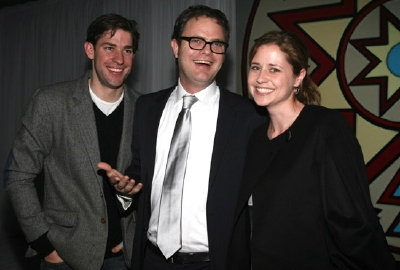 The Office The Last Mimzy Rainn Wilson John Krasinski Jenna Fischer
