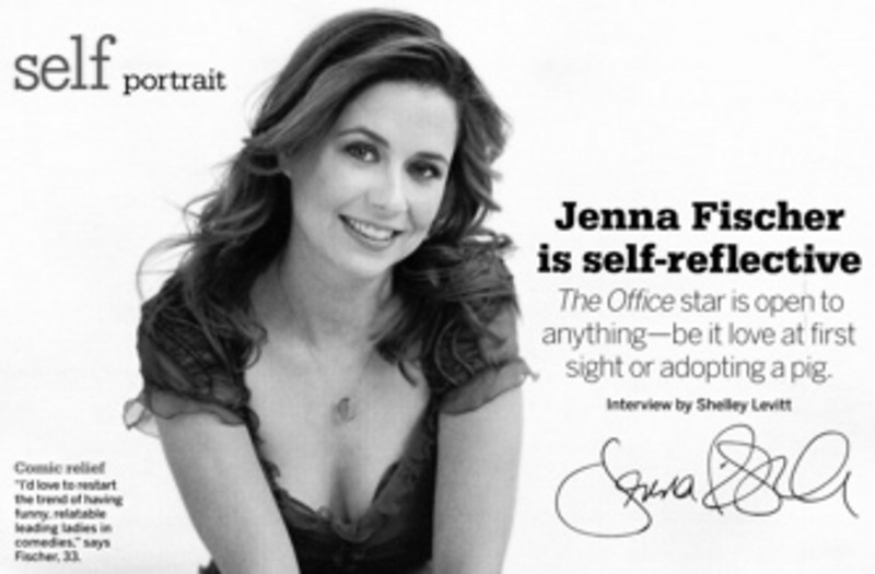 Jenna Fischer The Office Self Magazine