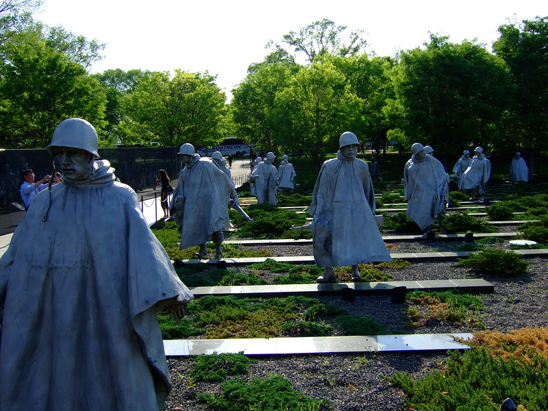 Korean War Veterans Memorial. Washington DC