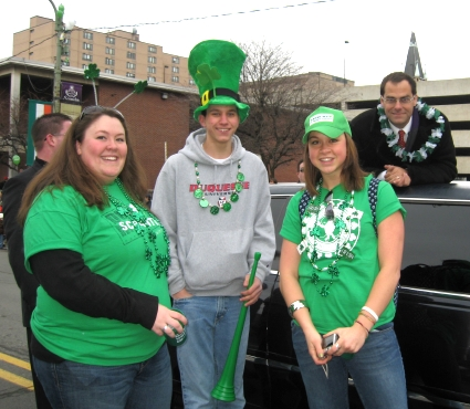 Scranton St. Patrick's Parade The Office