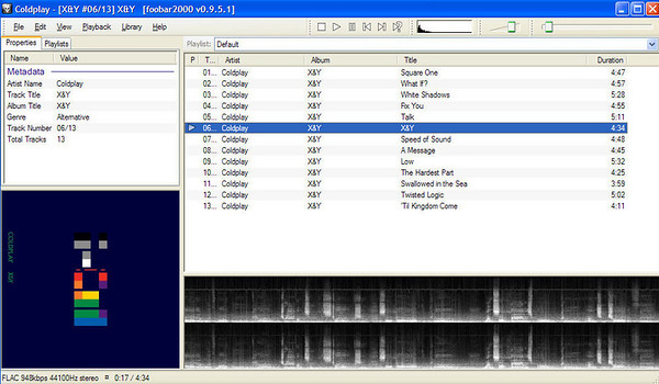 FLAC with Album Art in Foobar2000