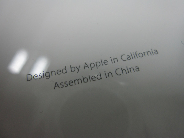 Designed in California, Made in China
