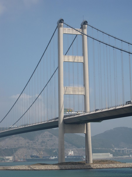 Tsing Ma Bridge Beach in Day Time 2