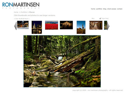 Ron Martinsen Photography - Smugmug Pro