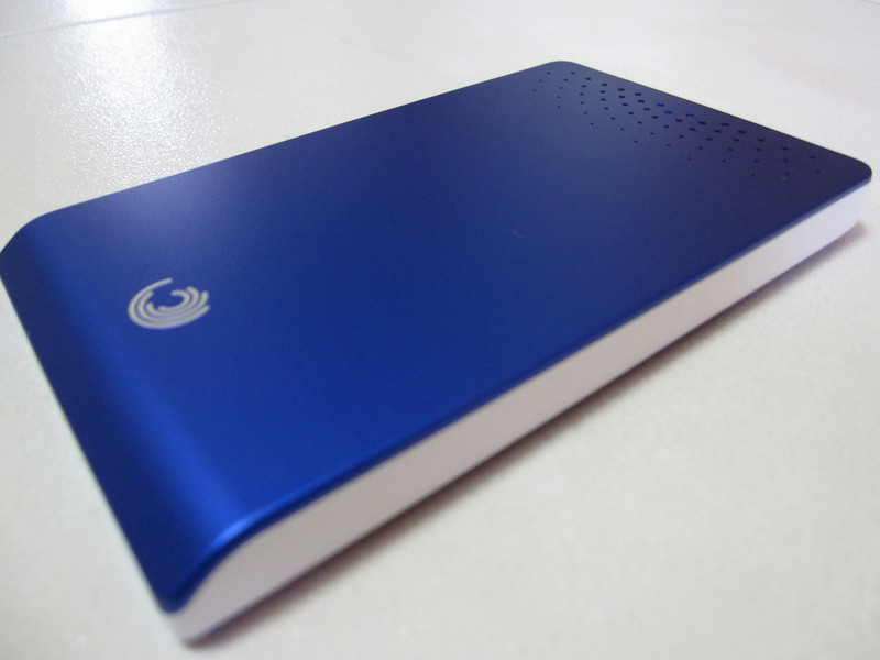 Seagate Blue Go Agent 320GB Portable Hard Disk