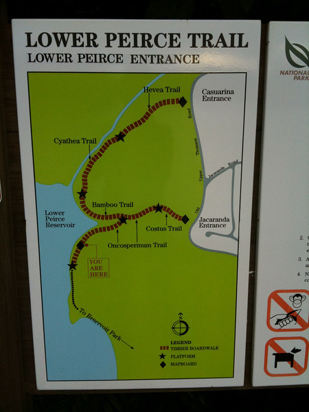 Lower Peirce Reservoir Trail