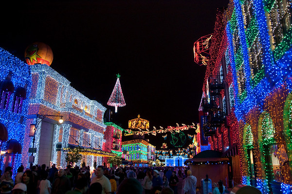 Disney's Hollywood Studios Lights in December