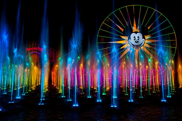 World of Color - Disneyland Resort's New Show!