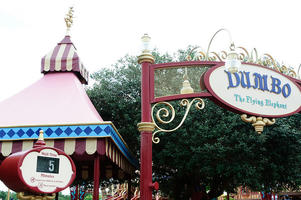 Dumbo wait time at Magic Kingdom
