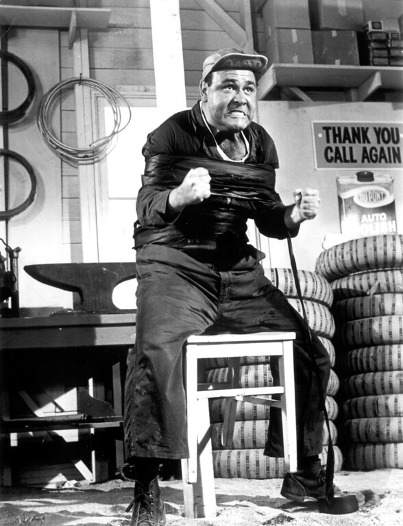 ". Jonathan Winters in ""It\'s a Mad, Mad, Mad, Mad World.\""   Daily News file photo"