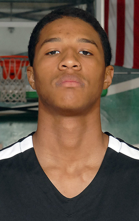 Description of . Alfred Brown of Upland High School has been named to the Inland Valley Daily Bulletin's All-Valley Boys Basketball First Team. Courtesy photo.