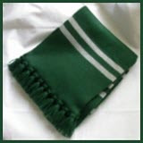 Trapped Bar Scarf in Slytherin Colors