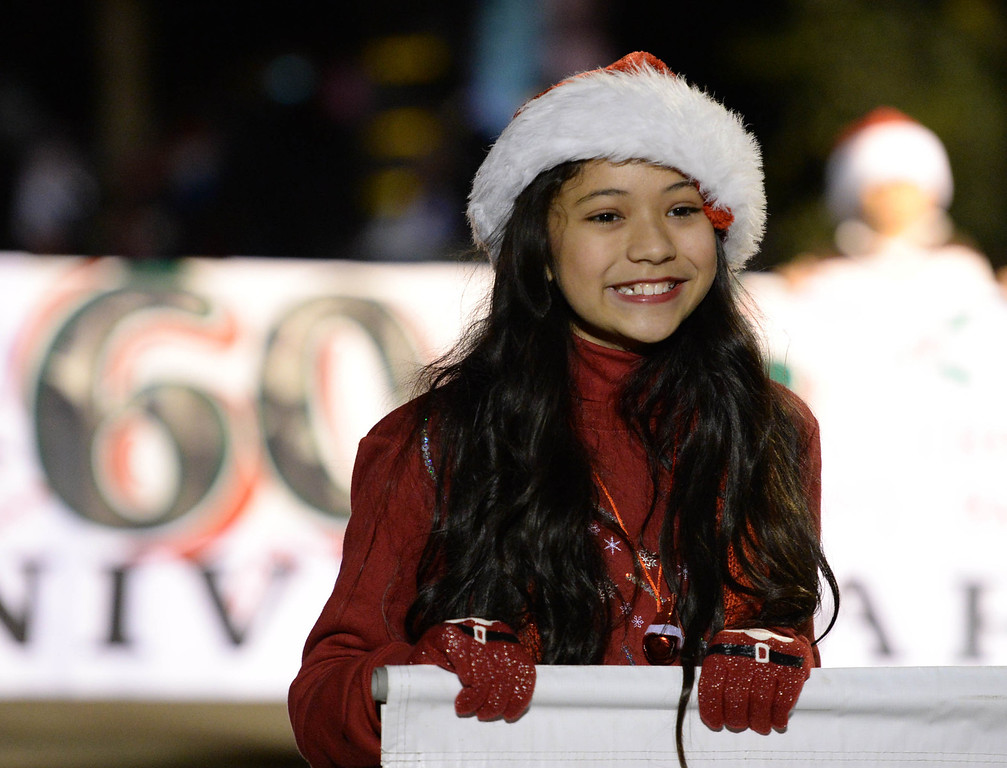 . The 60th annual Daisy Avenue Parade in the Wrigley neighborhood Saturday, December 13, 2013, in Long Beach, CA.   Photo by Steve McCrank/DailyBreeze