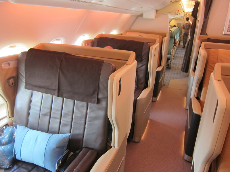 Business Class Seats on A380