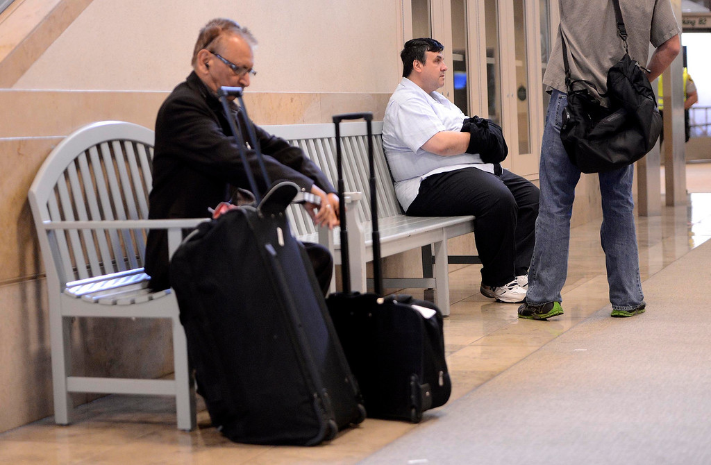Description of . Former SBIA developer Scot Spencer sits in the John Wayne Airport in Santa Ana March 28, 2013.   GABRIEL LUIS ACOSTA/STAFF PHOTOGRAPHER.