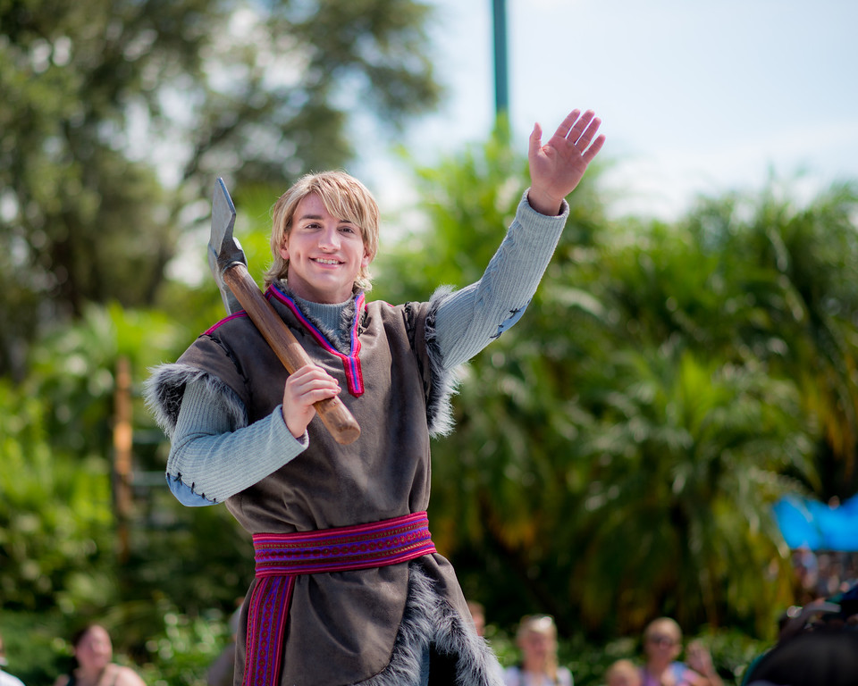 Anna and Elsa's Royal Welcome at Disney's Hollywood Studios - Kristoff
