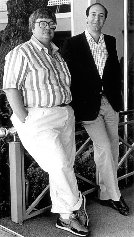 . Roger Ebert and Gene Siskel.  Daily News file photo