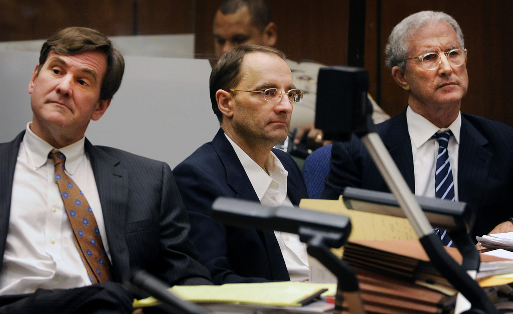 Description of . Attorneys R. Bradford (Brad) Bailey, and Jerffrey Denner with their client Christian Gehartsreiter who is on trial for murder. The murder trial of Christian Gerhartsreiter, 52,  known as