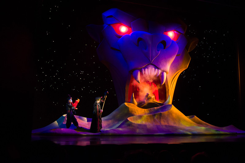 Aladdin at DCA is one of the shows now supported by RideMax