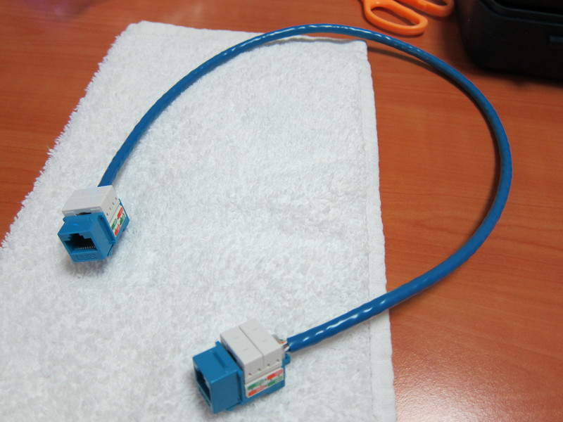 Making my own CAT6 extension cable