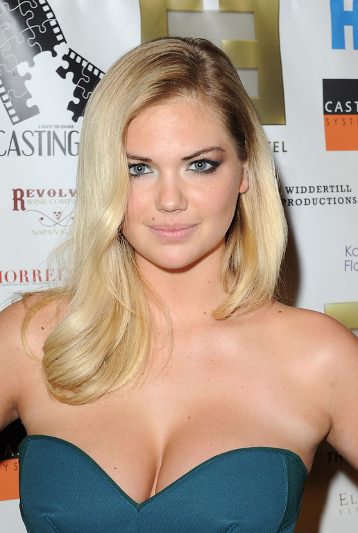 """. NEW YORK, NY - OCTOBER 12:  Kate Upton attends the \""""Casting By\"""" Premiere After Party During The 50th New York Film Festival at Empire Hotel on October 12, 2012 in New York City.  (Photo by Craig Barritt/Getty Images)"""