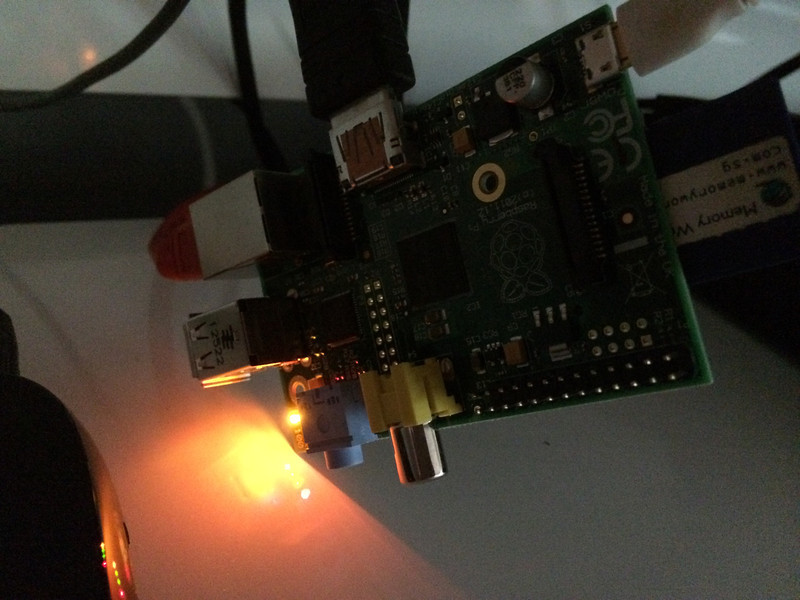 Raspberry Pi Raspbmc Power Supply Important