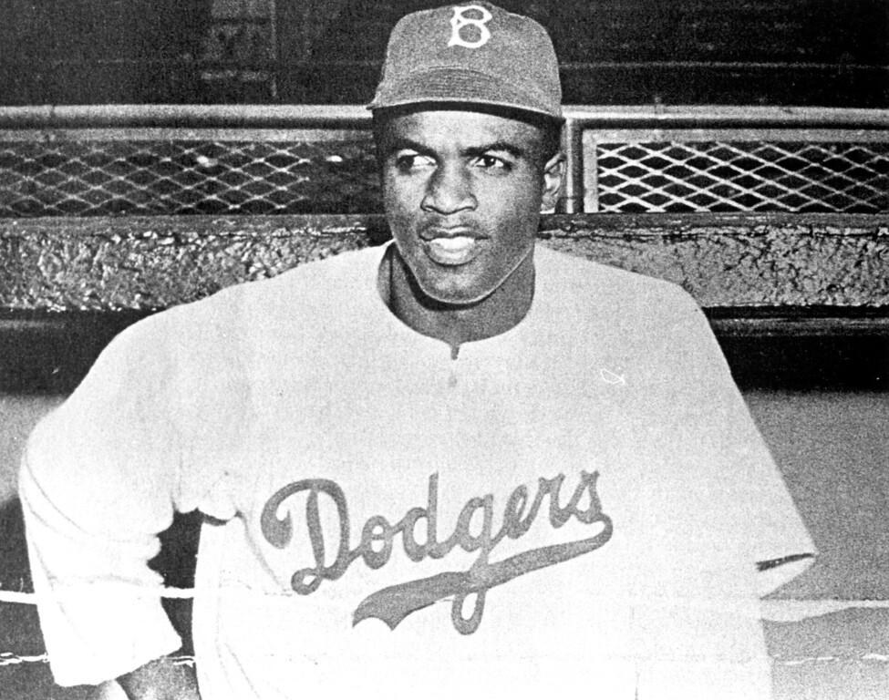Description of . Jackie Robinson  Daily News file photo