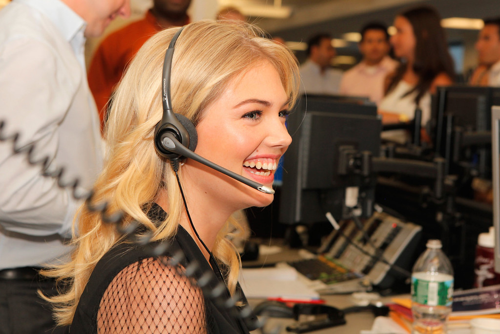 . NEW YORK, NY - SEPTEMBER 11:  Model Kate Upton attends Cantor Fitzgerald & BGC Partners host annual charity day on 9/11 to benefit over 100 charities worldwide at Cantor Fitzgerald on September 11, 2012 in New York City.  (Photo by Mike McGregor/Getty Images for Cantor Fitzgerald)