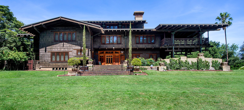 "Description of . The Gamble House Tuesday, July 16, 2013. Fans of the BBC's ""Upstairs/Downstairs"" and ""Downtown Abbey"" can get a rare, behind-the-scenes look at the real deal when the Gamble House, located at  4 Westmoreland Place in Pasadena. The Gamble House opens up its servants quarters for three weeks only, beginning Aug. 1. The tour is based on new findings about the Gamble family and its servants.(SGVN/Photo by Walt Mancini)"