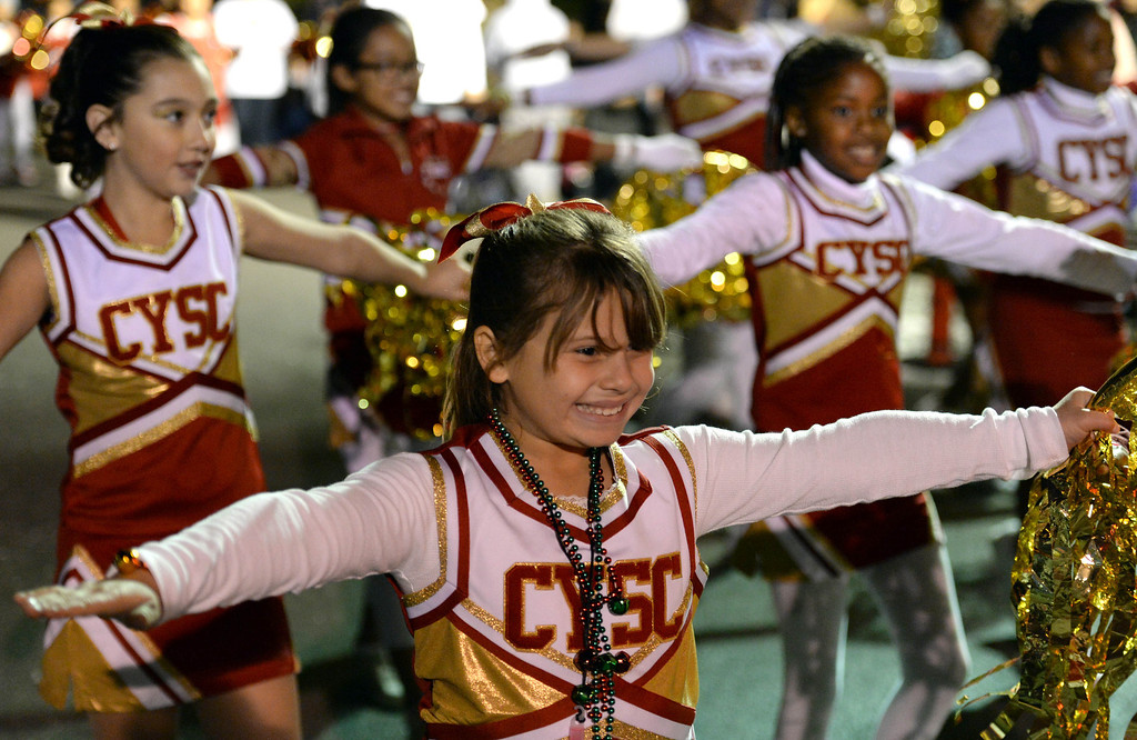 . The 60th annual Daisy Avenue Parade in the Wrigley neighborhood Saturday, December 13, 2013, in Long Beach, CA.  California Youth Spirit Corps. Photo by Steve McCrank/DailyBreeze
