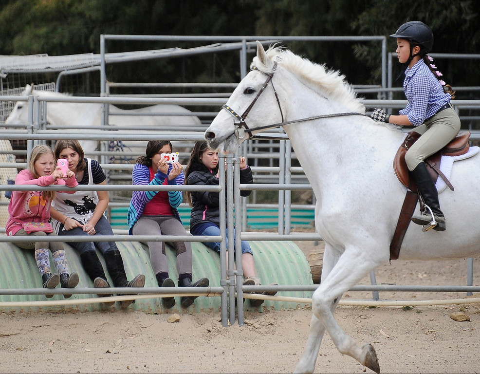 . Stoney Point Riders perform during the 2013 Chatsworth\'s 10th Annual Day of the Horse celebration. This event will also celebrate Chatsworth\'s 125th birthday  April 14,2013. Chatsworth CA. Photo by Gene Blevins/LA Daily News