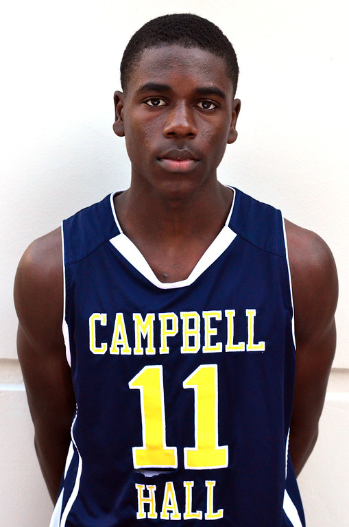 . Aaron Holiday, Campbell Hall 2012-2013
