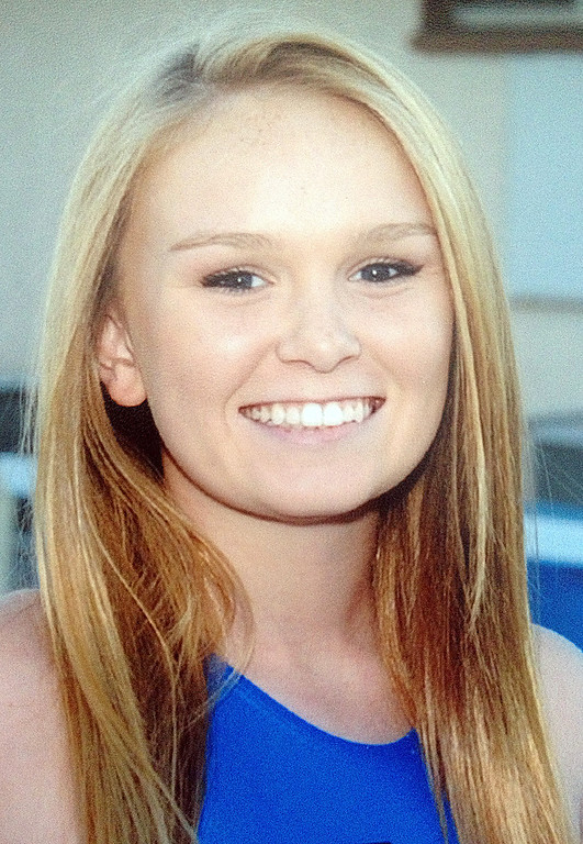 . Hilary Adkins of St Lucy\'s High School has been named to the Daily Bulletin\'s All-Valley Girl\'s water polo team. Courtesy photo.