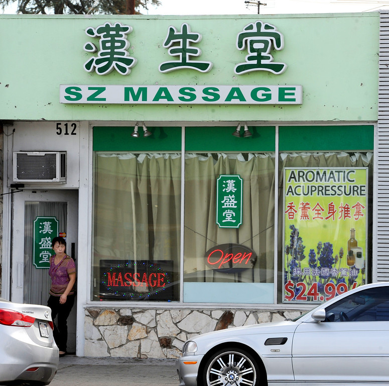 Description of . Massage establishments on Valley Boulevard in San Gabriel. City of San Gabriel received a report on massage establishments and  there are 52 of them in the small city Thursday, November 7, 2013. Photo by Walt Mancini/Pasadena Star-News)