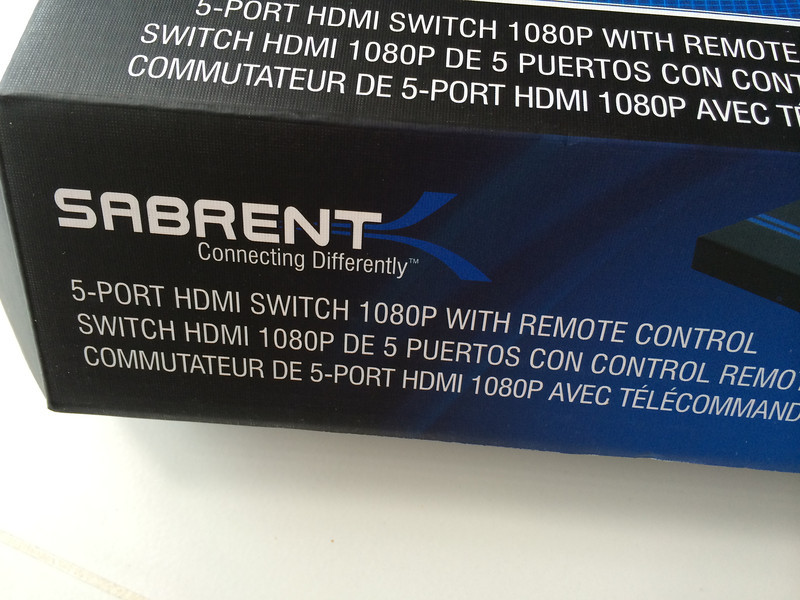 Sabrent High Definition 5x1 HDMI switch