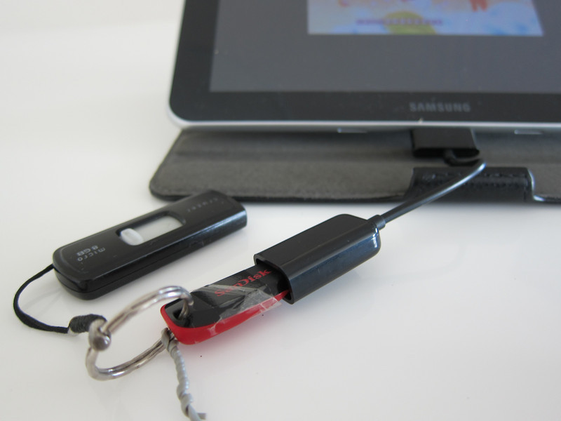 Galaxy Tab 30pin to Female USB Adapter Dongle