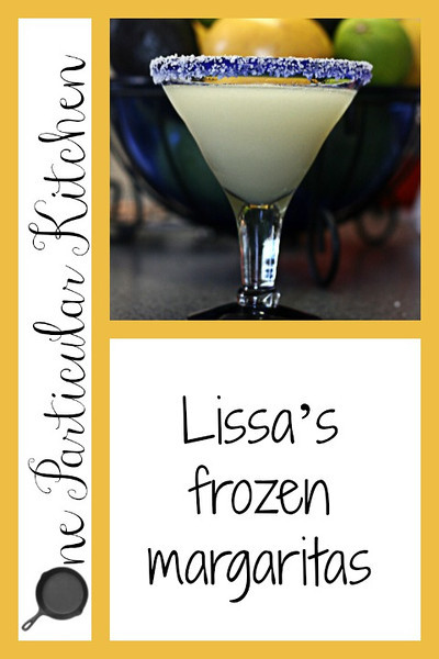 Lissas frozen margaritas