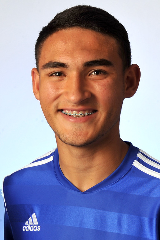 . Cristian Roldan from El Rancho High School was selected to the Whittier Daily News All-Area Boys Soccer team on Wednesday March 27, 2013. (SGVN/Staff Photo by Keith Durflinger)