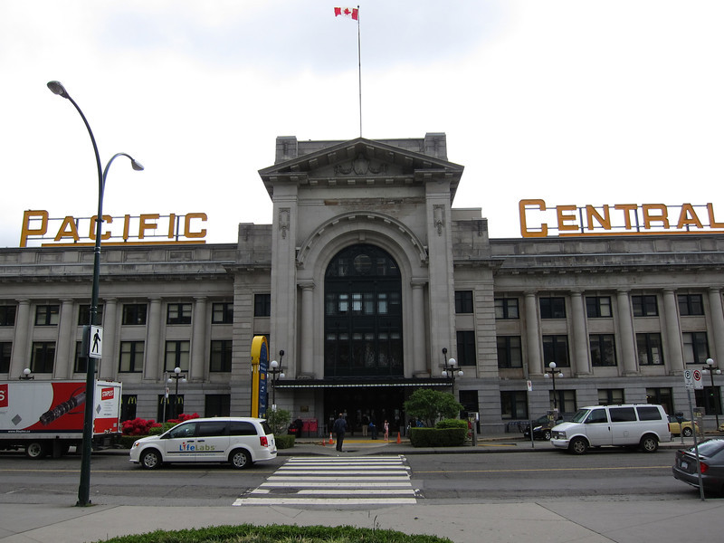 Pacific Central Station Vancouver