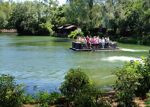 Tom Sawyer's Island - Magic Kingdom