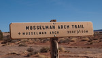 Musselman Arch Trail Head