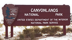 Canyonlands Entrance Sign