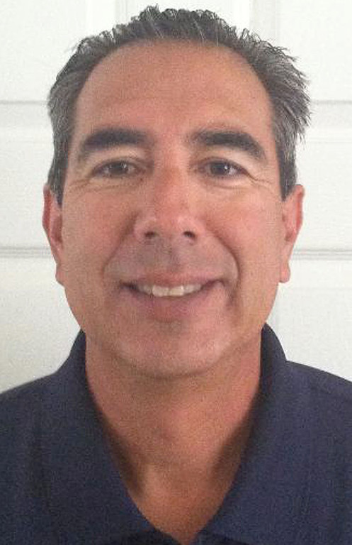 Description of . Jaime Sandoval has been named Coach of the Year to the All-Area track team for the Inland Valley Daily Bulletin. Sandoval coaches track at Colony High School. Courtesy photo to the Bulletin.