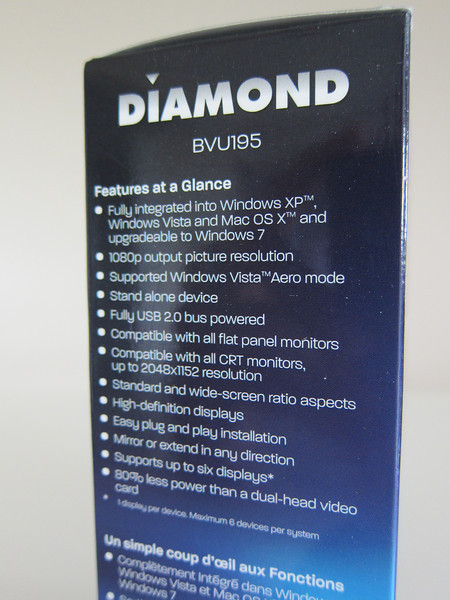 Diamond BVU195 HD USB Display Adapter