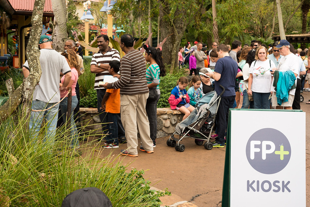 FP+ Kiosk at Animal Kingdom