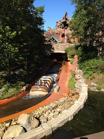 Empty Splash Mountain