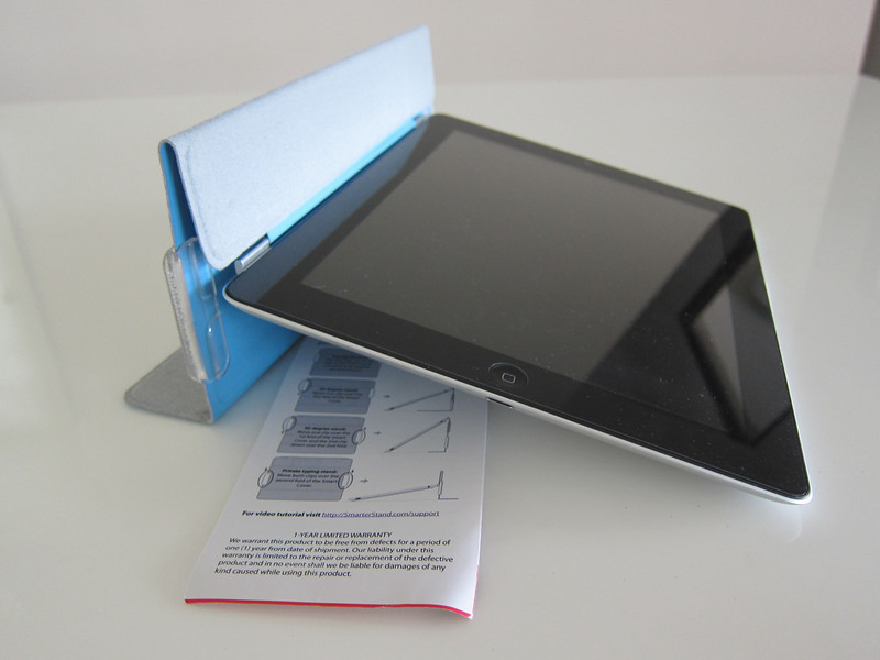 Smarter stand for iPad