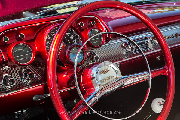 Chevy Bel Air Dashboard